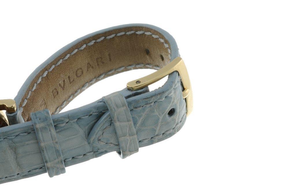BULGARI - a lady's Bulgari wrist watch. 18ct yellow - 4
