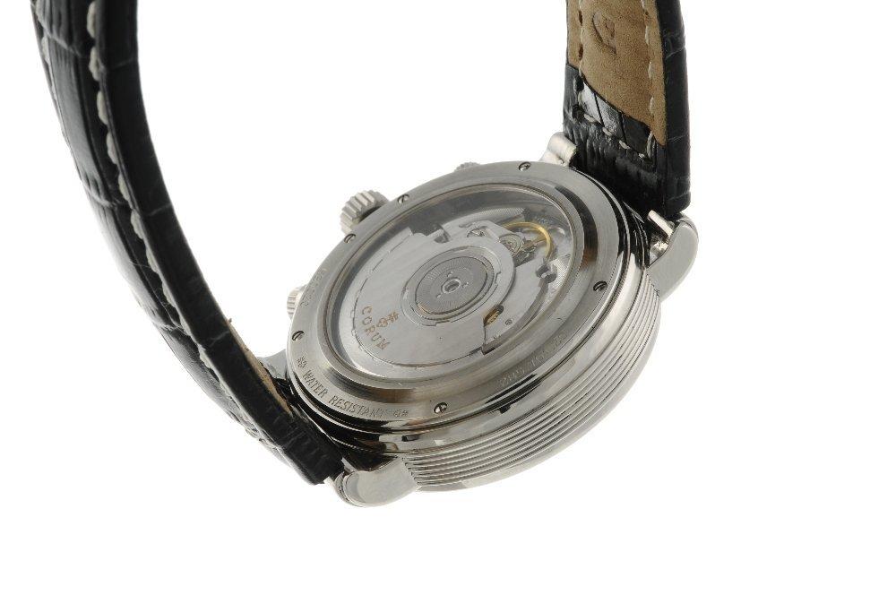 CORUM - a gentleman's Romulus chronograph wrist watch. - 2