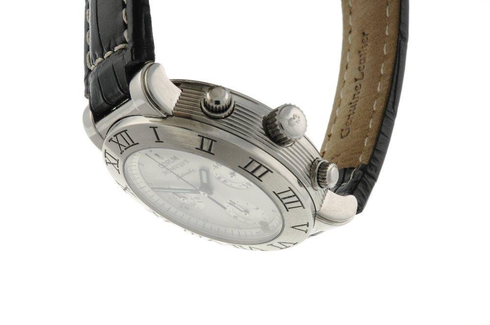 CORUM - a gentleman's Romulus chronograph wrist watch. - 3