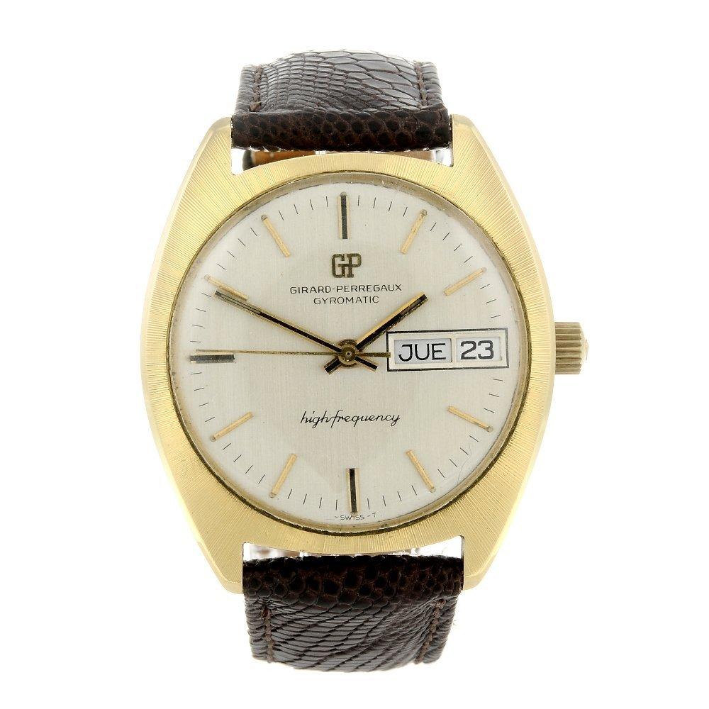 GIRARD-PERREGAUX - a gentleman's Gyromatic wrist watch.