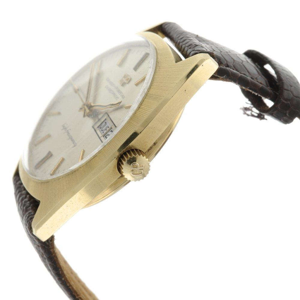 GIRARD-PERREGAUX - a gentleman's Gyromatic wrist watch. - 3