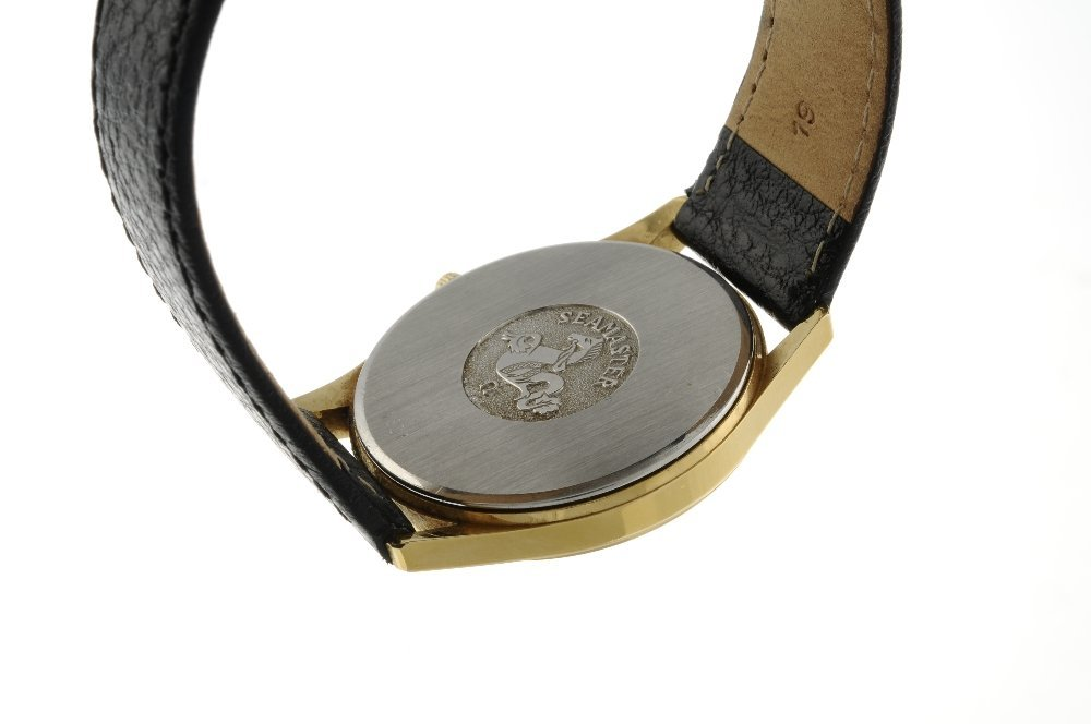 OMEGA - a gentleman's Seamaster wrist watch. Gold - 2