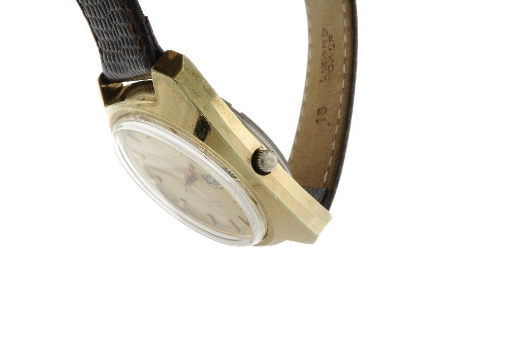 OMEGA - a gentleman's Genve F300Hz wrist watch. Gold - 3