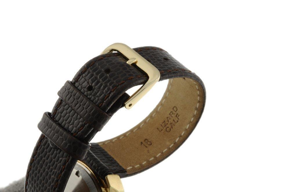 OMEGA - a gentleman's Genve F300Hz wrist watch. Gold - 4