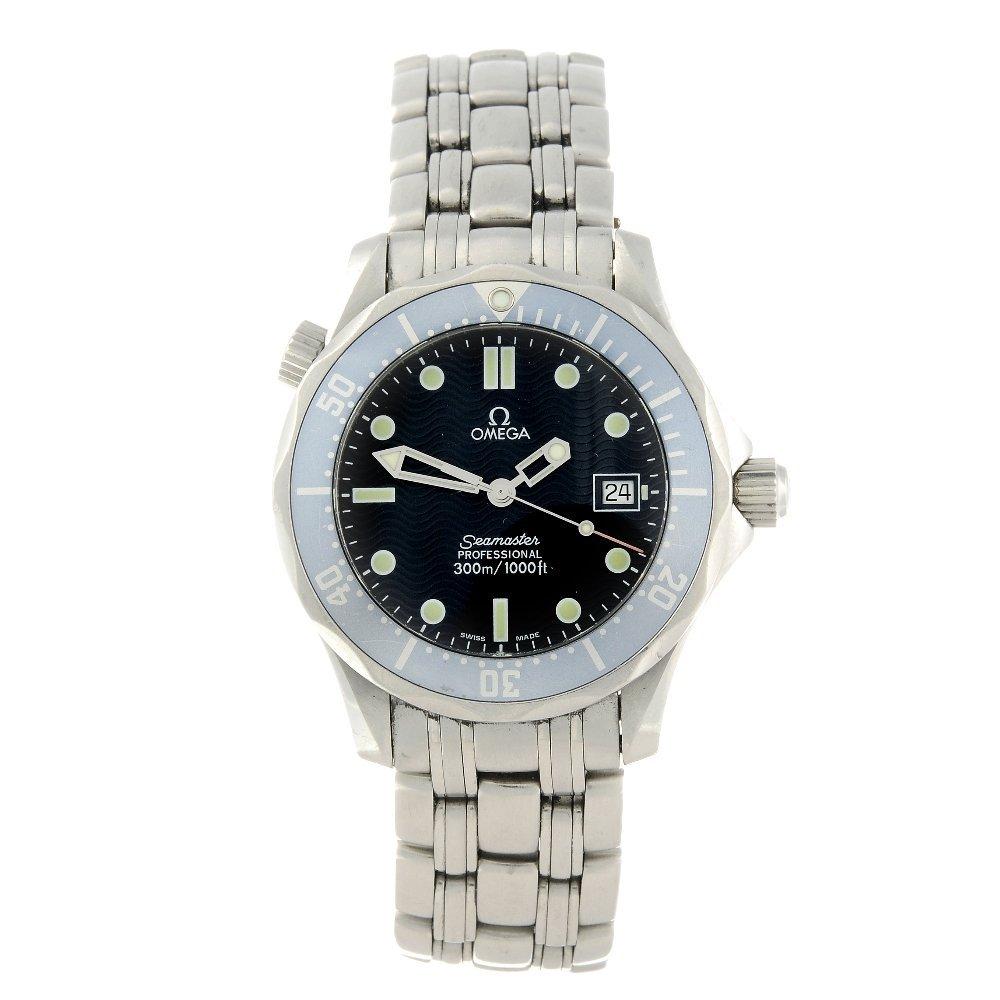 OMEGA - a mid-size Seamaster Professional 300M bracelet