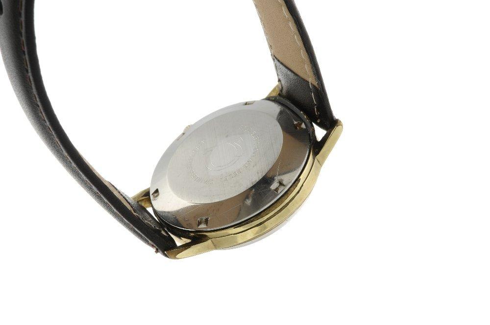 OMEGA - a gentleman's Genve wrist watch. Gold plated - 2