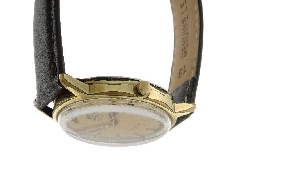 OMEGA - a gentleman's Genve wrist watch. Gold plated - 3