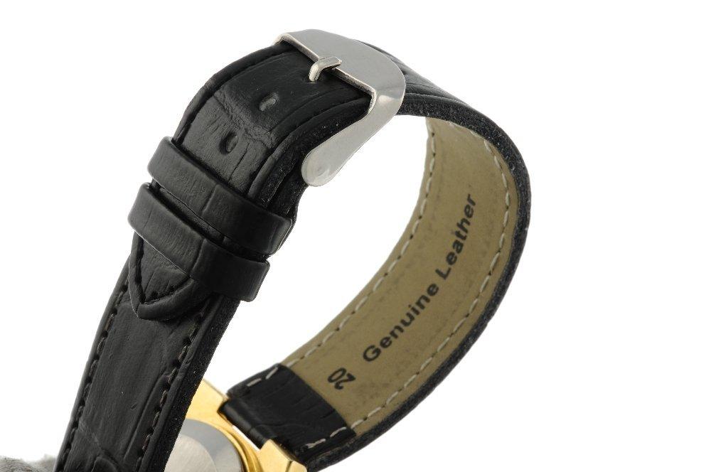 OMEGA - a gentleman's Seamaster wrist watch. Gold - 4