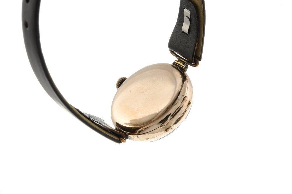 ROLEX - a wrist watch. 9ct rose gold case, import - 2