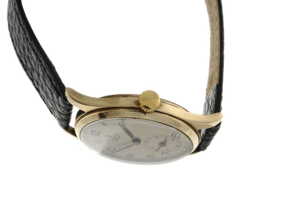 ROLEX - a gentleman's Precision wrist watch. 9ct yellow - 3