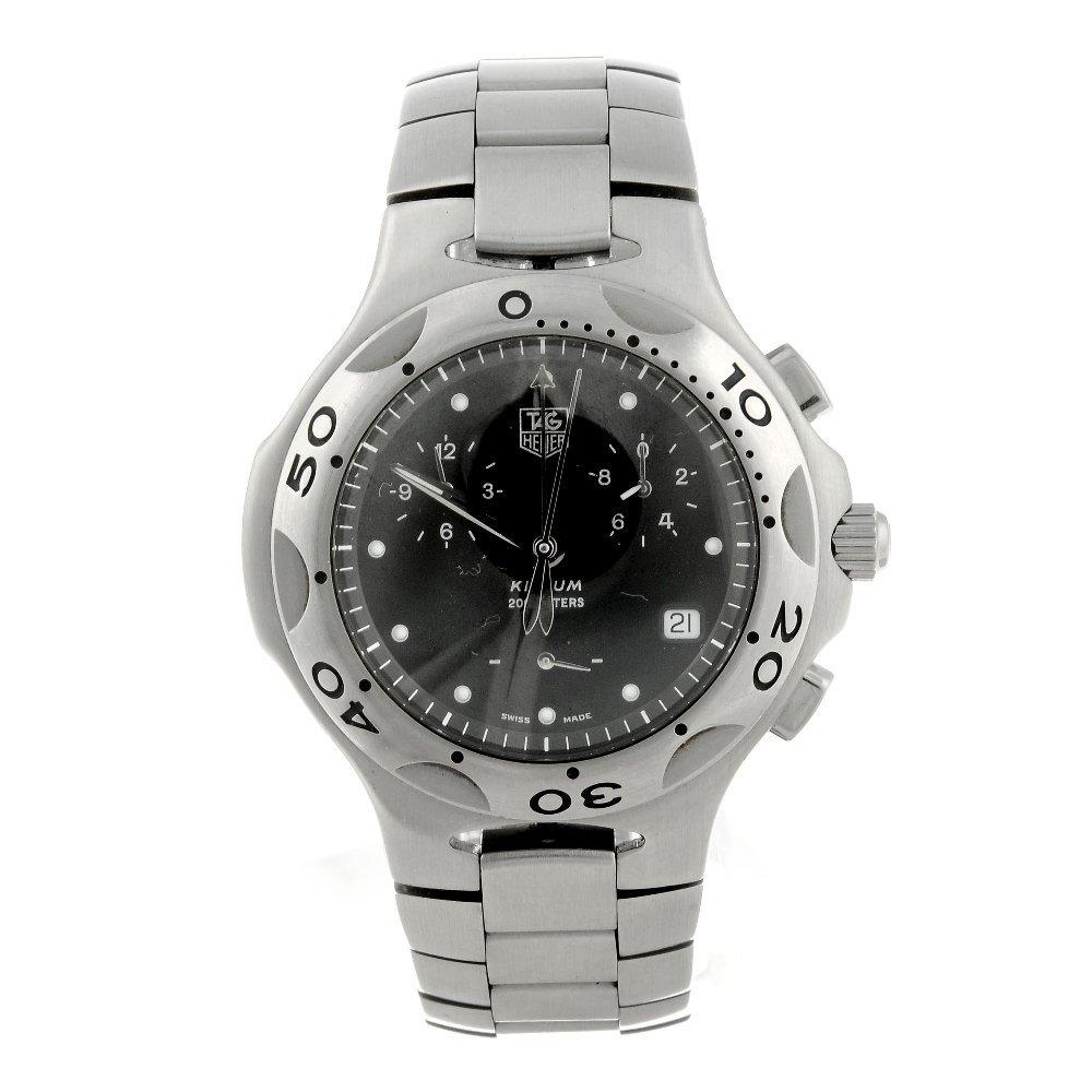 TAG HEUER - a gentleman's Kirium chronograph bracelet