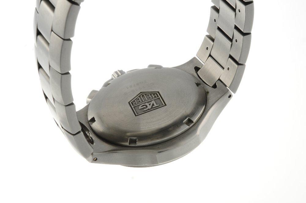TAG HEUER - a gentleman's Kirium chronograph bracelet - 2