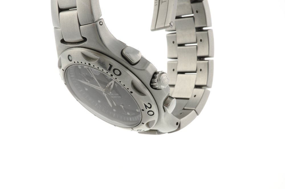 TAG HEUER - a gentleman's Kirium chronograph bracelet - 3