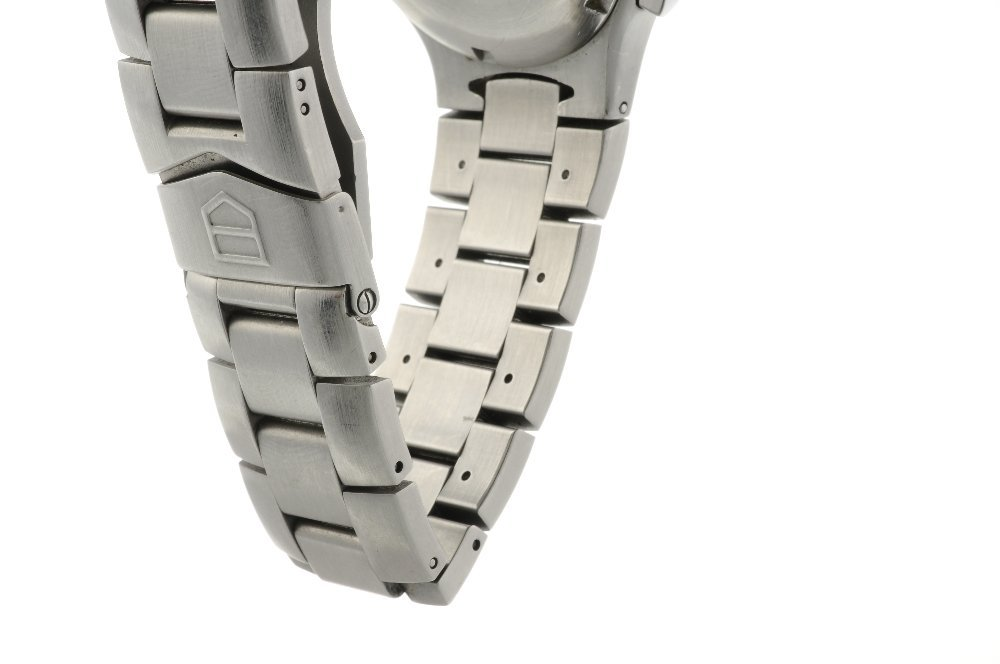 TAG HEUER - a gentleman's Kirium chronograph bracelet - 4