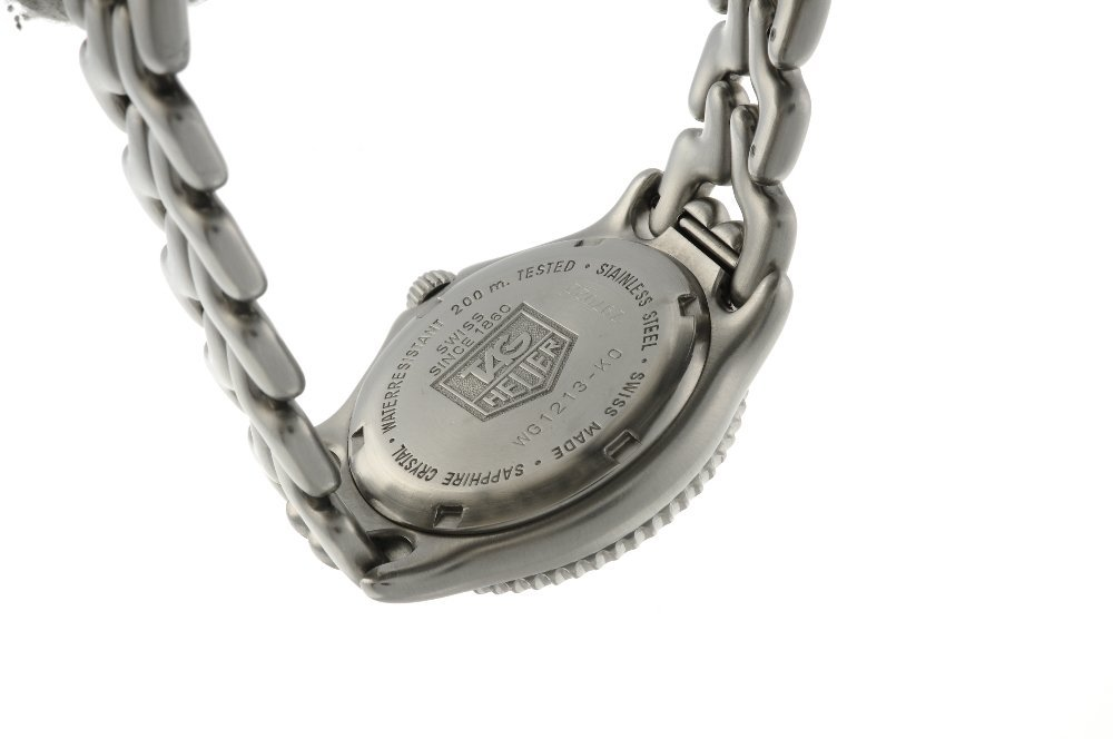 TAG HEUER - a mid-size S/el bracelet watch. Stainless - 2