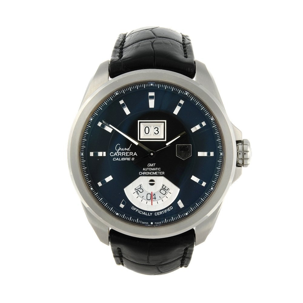 TAG HEUER - a gentleman's Grand Carrera Calibre 8 wrist
