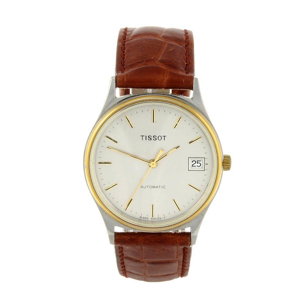 TISSOT - a gentleman's wrist watch. Stainless steel