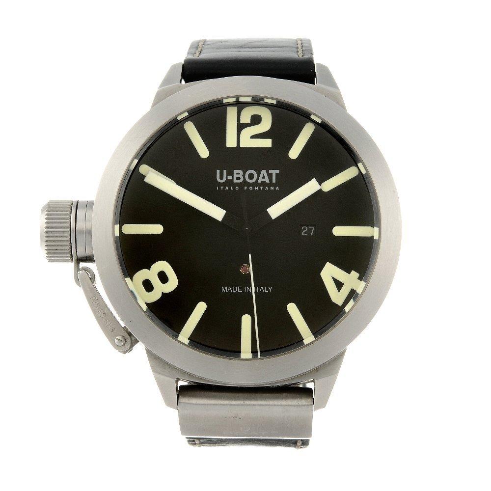 U-BOAT - a gentleman's wrist watch. Stainless steel
