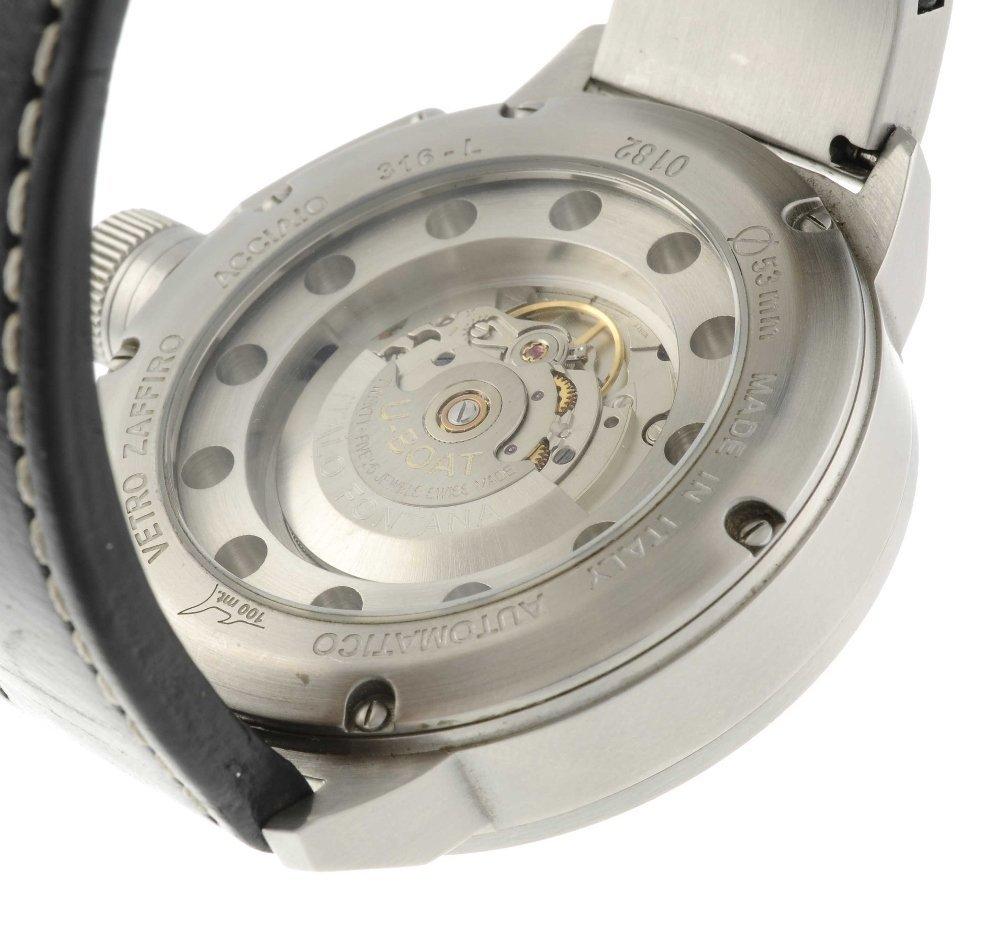 U-BOAT - a gentleman's wrist watch. Stainless steel - 2