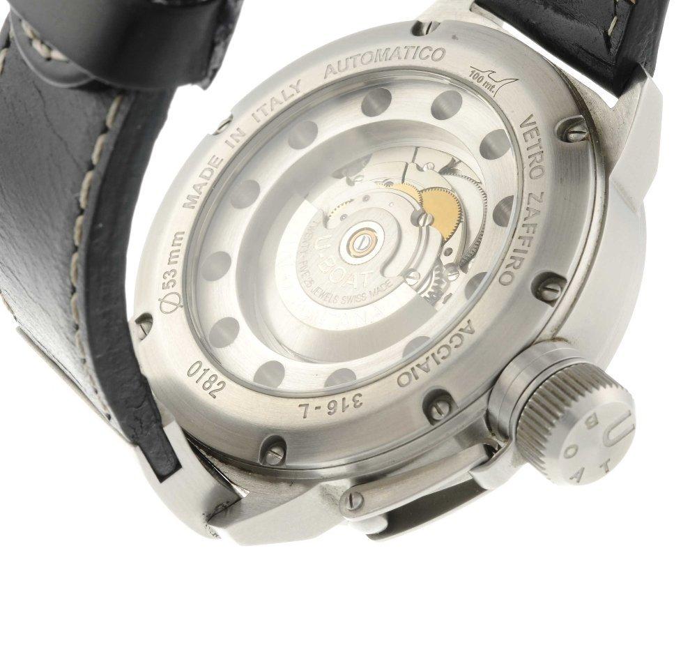 U-BOAT - a gentleman's wrist watch. Stainless steel - 3