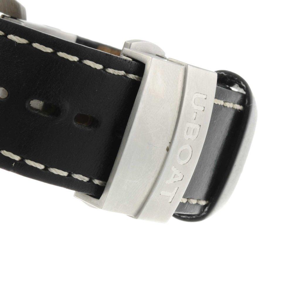 U-BOAT - a gentleman's wrist watch. Stainless steel - 4