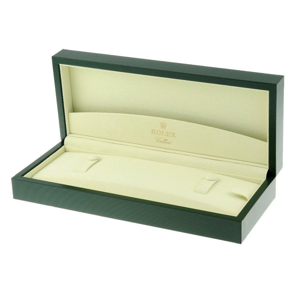 ROLEX - a complete Cellini watch box.   Inner box
