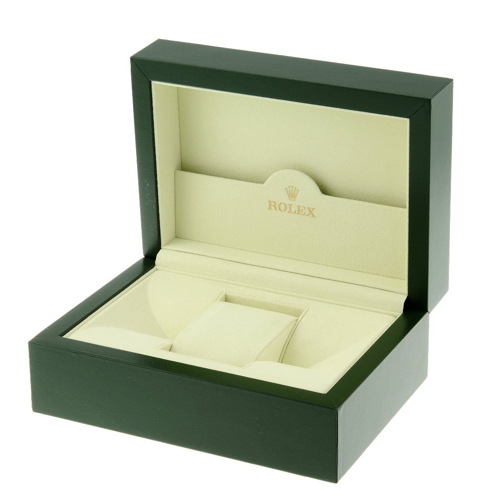 ROLEX - a complete watch box.   Inner box appears to be