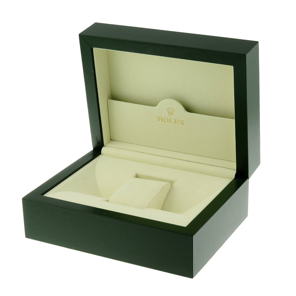 ROLEX - a complete watch box.   Outer box has very