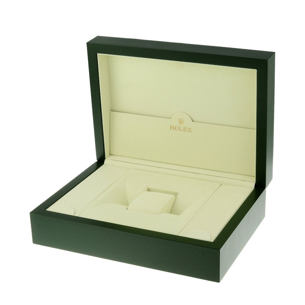 ROLEX - a complete watch box.    Inner box appears to