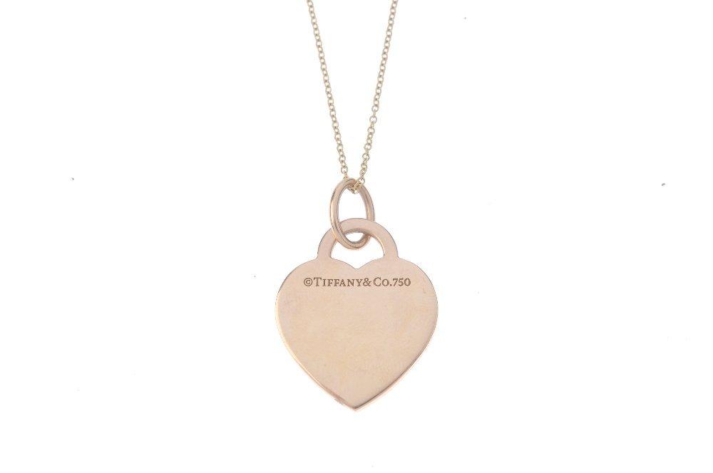 TIFFANY & CO. - a 'Return to Tiffany' diamond pendant. - 2