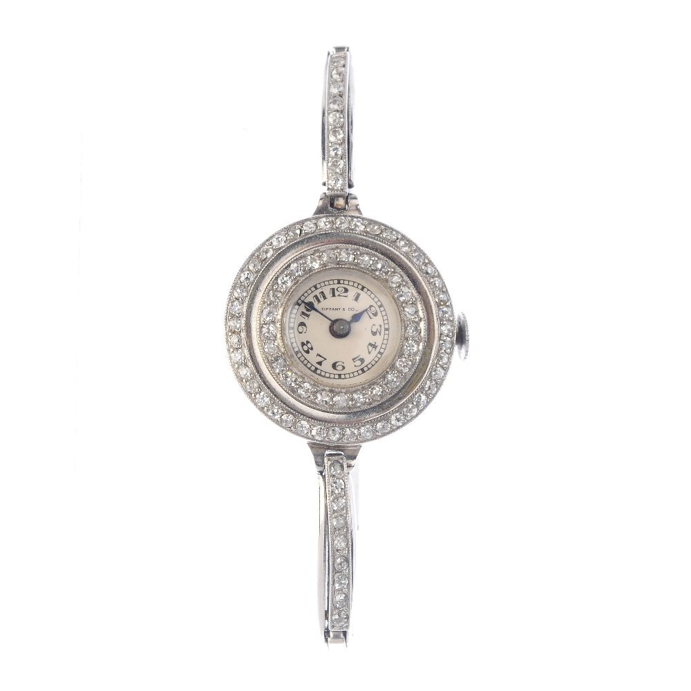 TIFFANY & CO. - a lady's early 20th century platinum