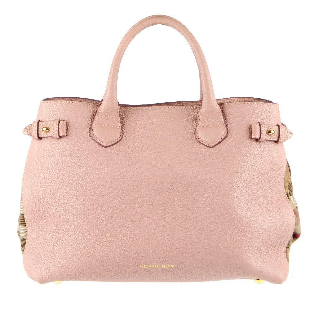 BURBERRY - a Medium Banner tote handbag. Designed with
