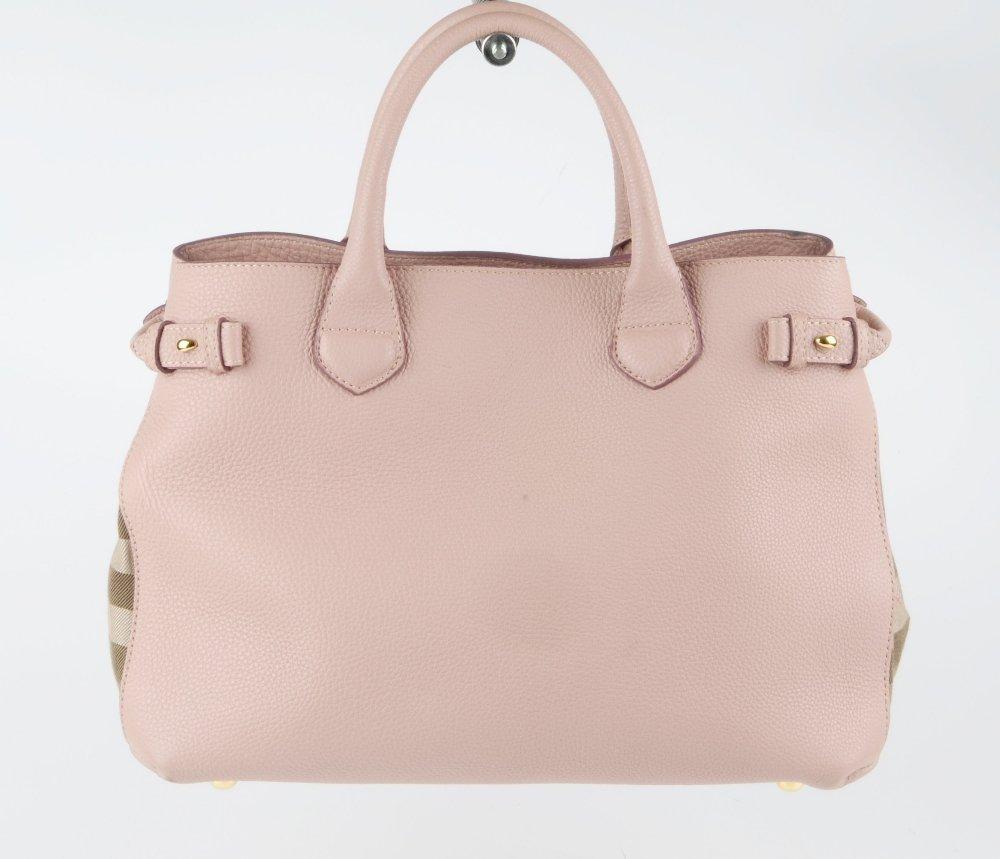 BURBERRY - a Medium Banner tote handbag. Designed with - 4