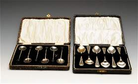 A selection of silver  plated cutlery and flatware to