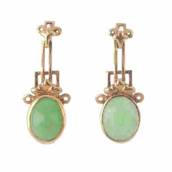 Seven pairs of gem-set earrings. To include a pair of