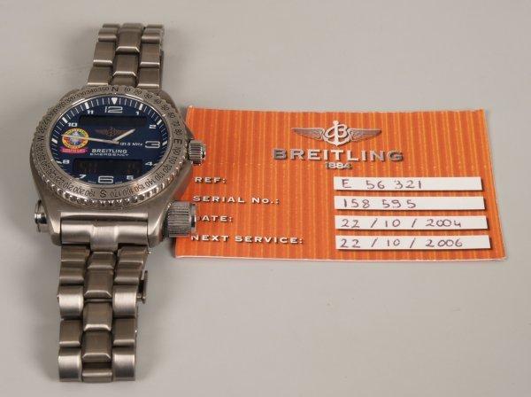 1007: BREITLING - a special edition titanium Emergency