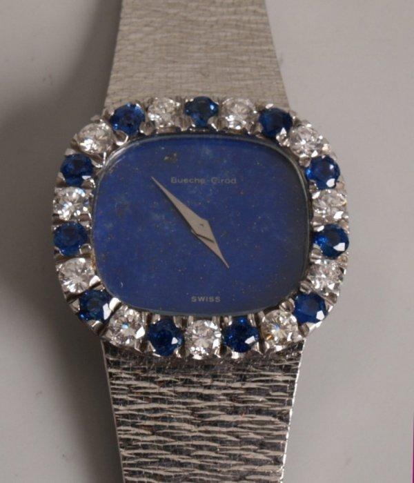 1009: BUECHE GIROD - 18ct white gold lady's dress watch