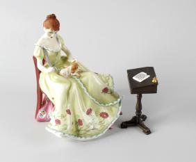 A Royal Doulton limited edition bone china figurine,