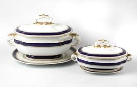 A set of Victorian Royal Worcester Aesthetic style