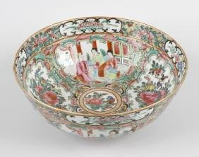 A late 19th century Chinese porcelain famille rose