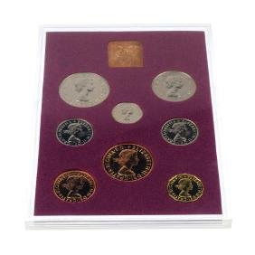 Elizabeth II, proof year sets (4) 1970, 1971, 1984,