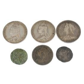British and world coins, small quantity, includes