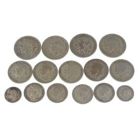 British and world coins, a quantity including British