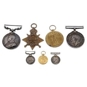 Military Medal and Great War Trio, Military Medal named