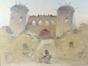 ARR* Brynskin Boris Alexandrovich (1924-1998)A walled