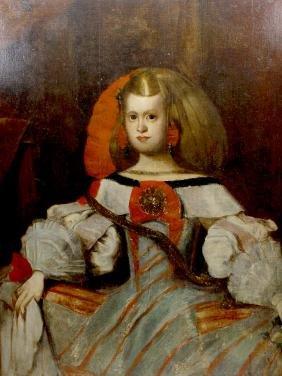 Spanish School (Early 19th century)Half length portrait