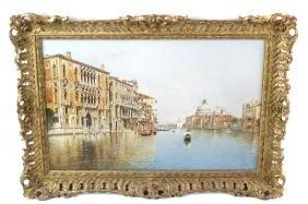 Rafael Senet y Perez, (1856-1926), Grand Canal, Venice,