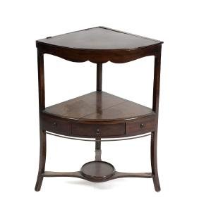 A mixed collection of furniture. Comprising: a George