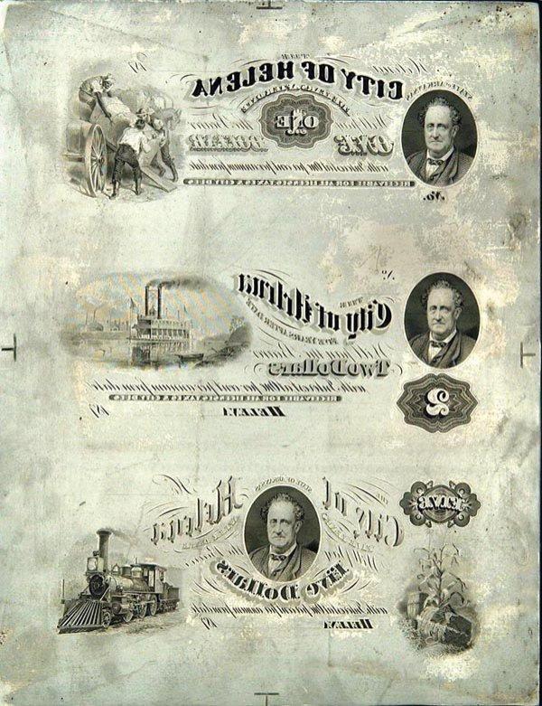 957: Helena, Arkansas $1-$2-$5 Plates