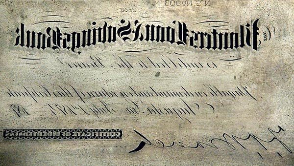 961: Planters Loan & Savings Bank Certificate